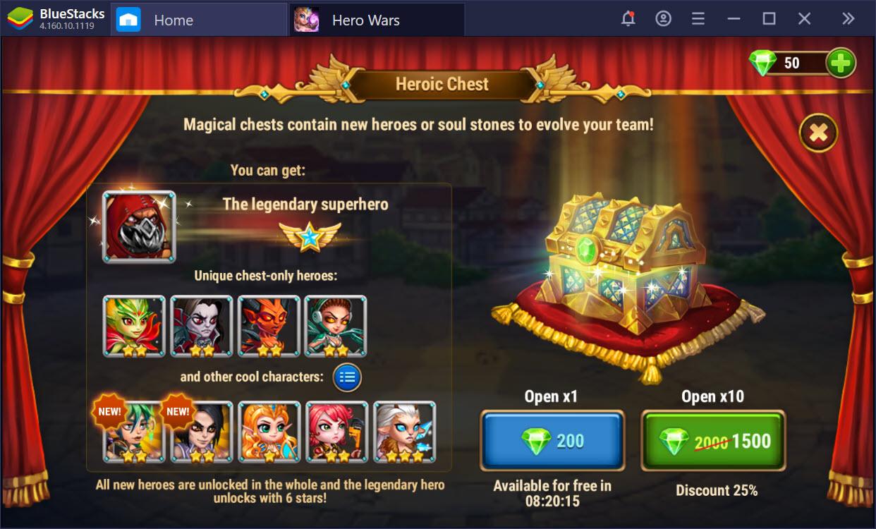 Những lưu ý khi chơi Hero Wars, giúp bạn nhanh chóng vượt ải