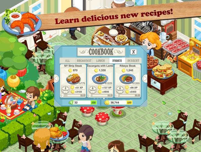 Play Restaurant Story: Food Lab on PC 12