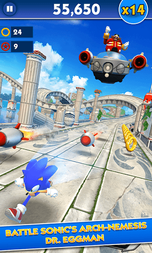 Main Sonic Dash on PC 2