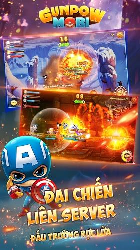 Chơi GunPow – Bắn Gà Teen PK on PC 4