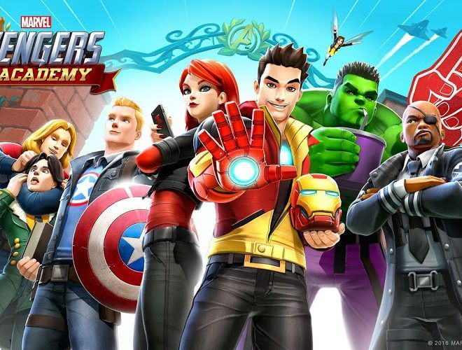 เล่น Marvel Avengers Academy on PC 12