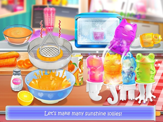 Chơi Ice Cream Lollipop Maker on PC 5