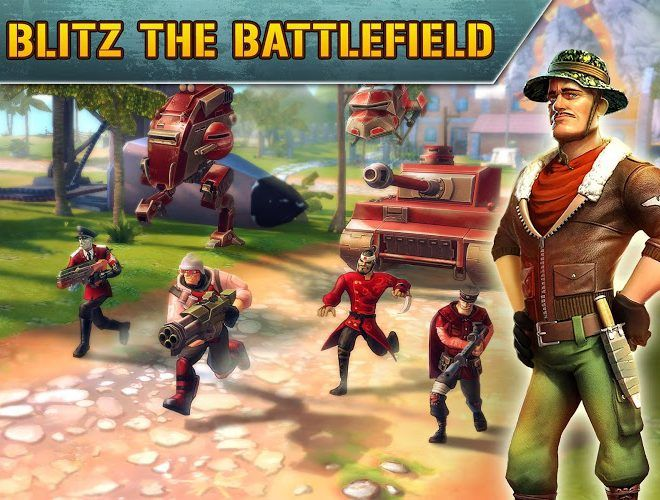 Play Blitz Brigade on PC 2