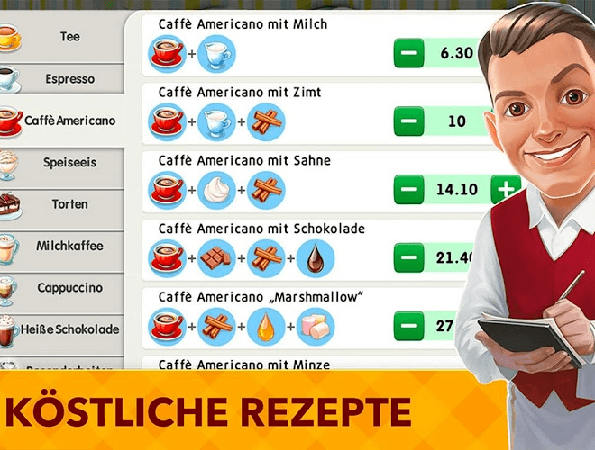 Spiele My Cafe Recipes & Stories auf PC 4