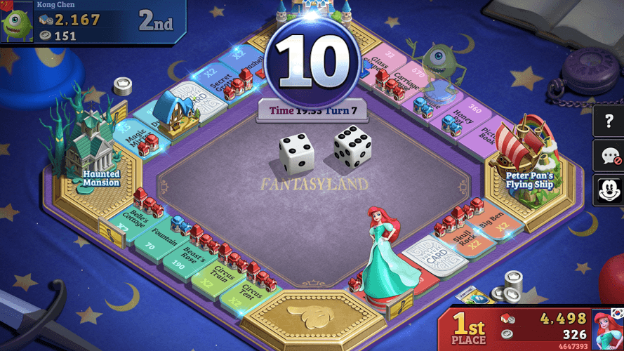 Play Disney Magical Dice : The Enchanted Board Game on PC 14