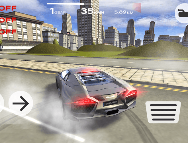 เล่น Extreme Car Driving Simulator on pc 9
