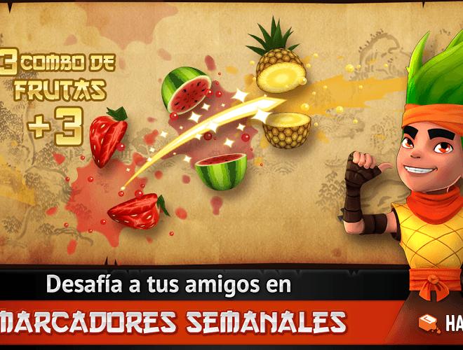 Juega Fruit Ninja Free on PC 12