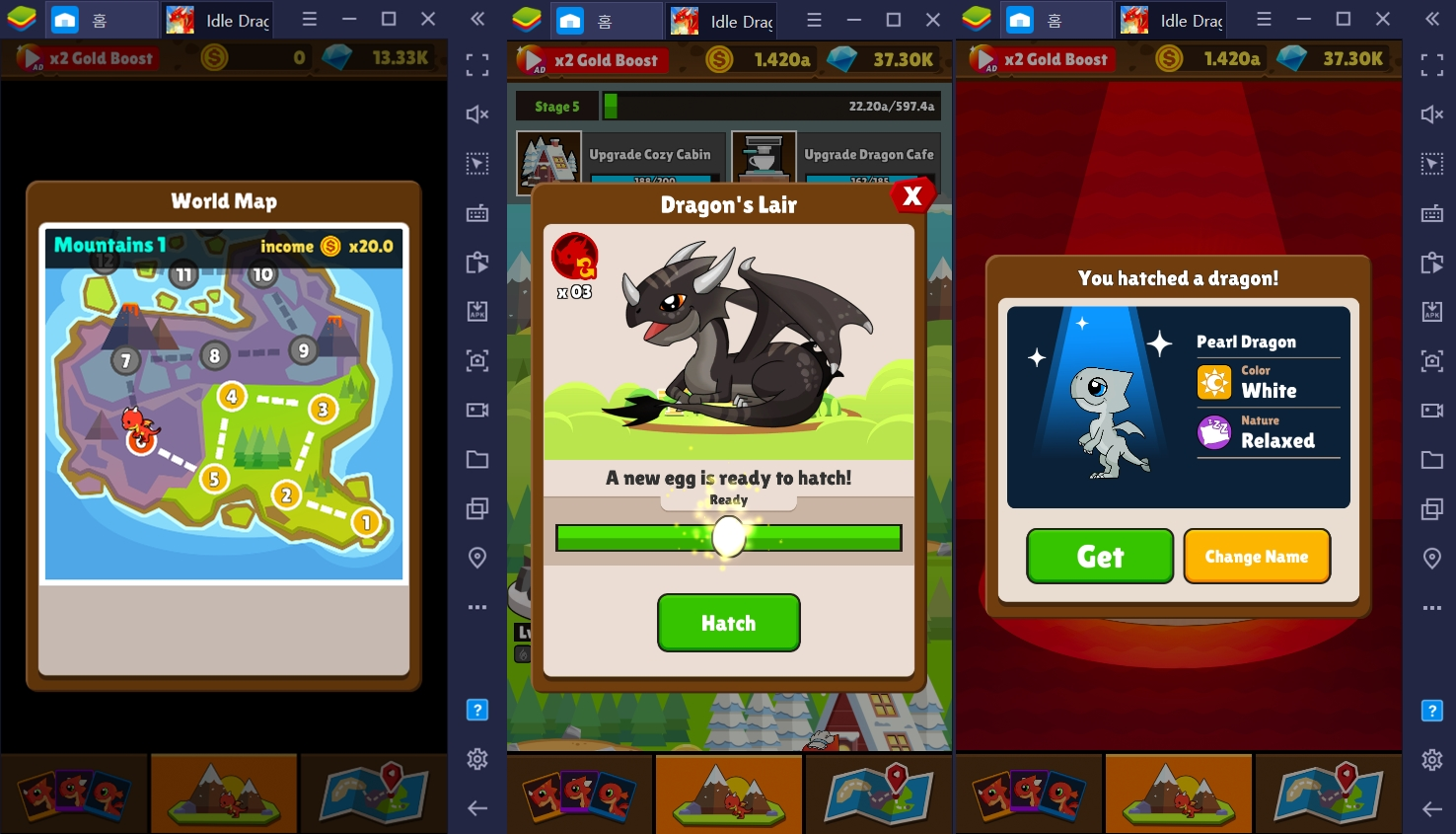 PC로 즐길 수 있는 방치형 게임 아이들 드래곤 월드, 더 효율적으로 플레이하는 방법은?