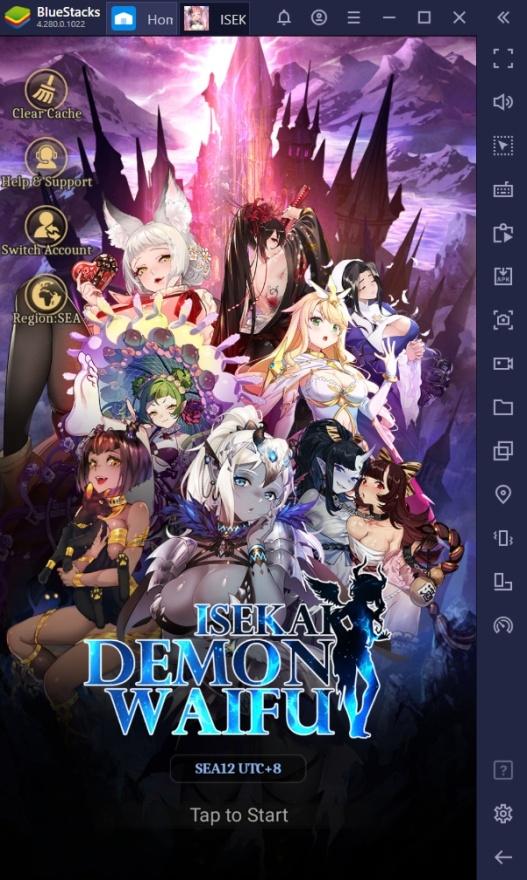 How to Play ISEKAI: Demon Waifu on PC with BlueStacks