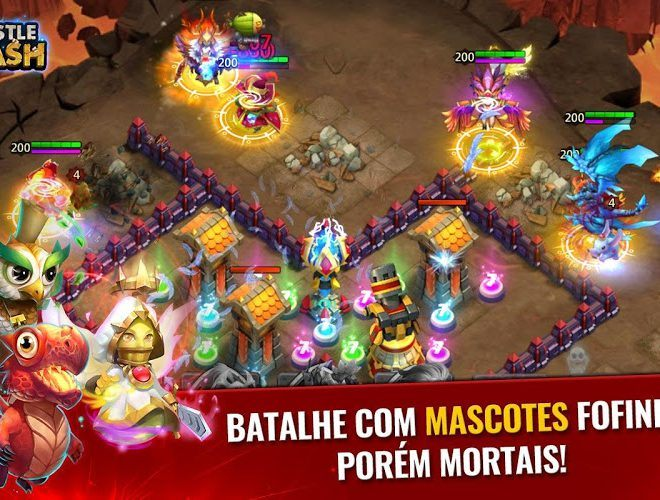 Jogue Castle Clash para PC 12