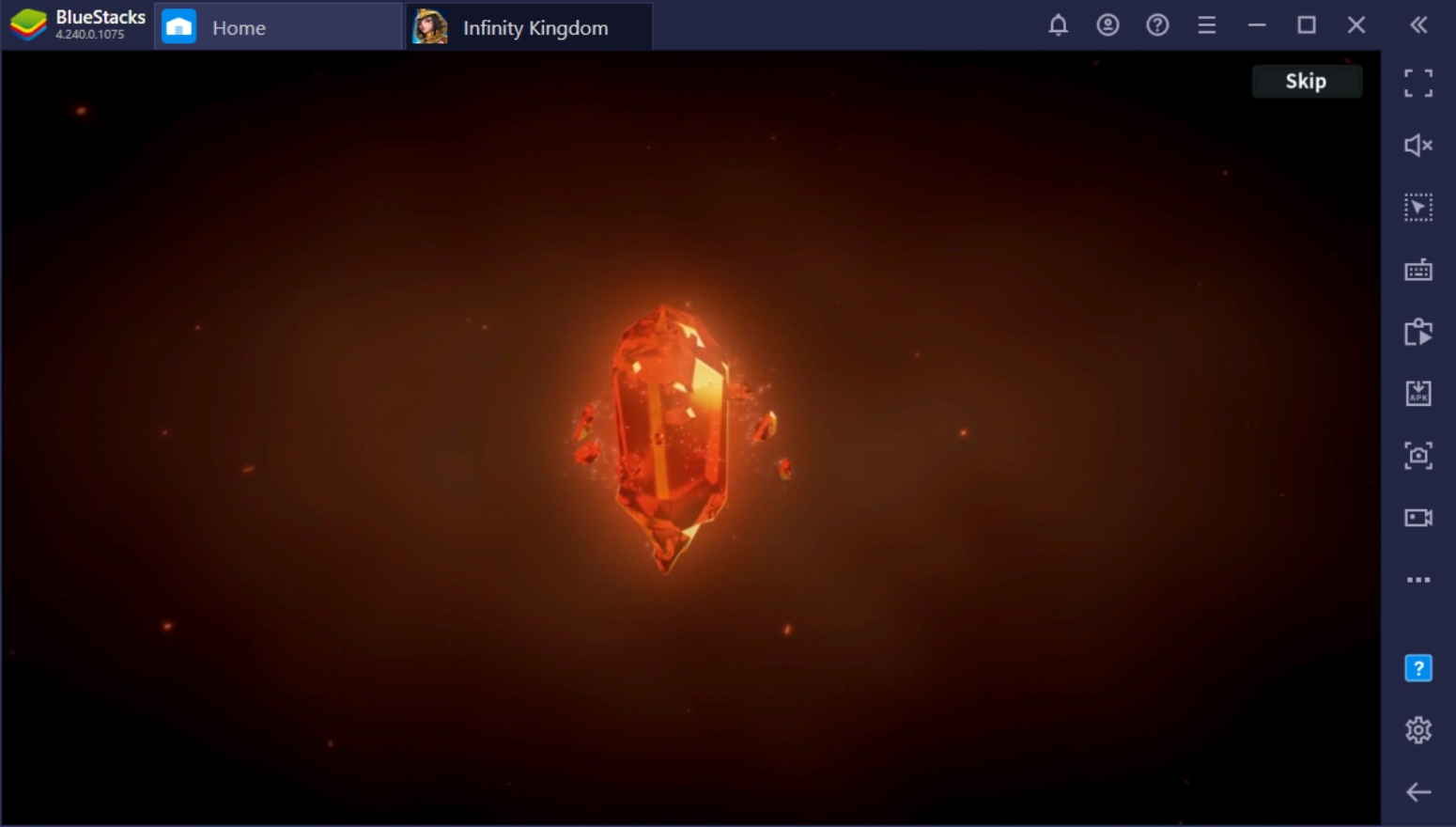 How To Play Infinity Kingdom On PC With BlueStacks