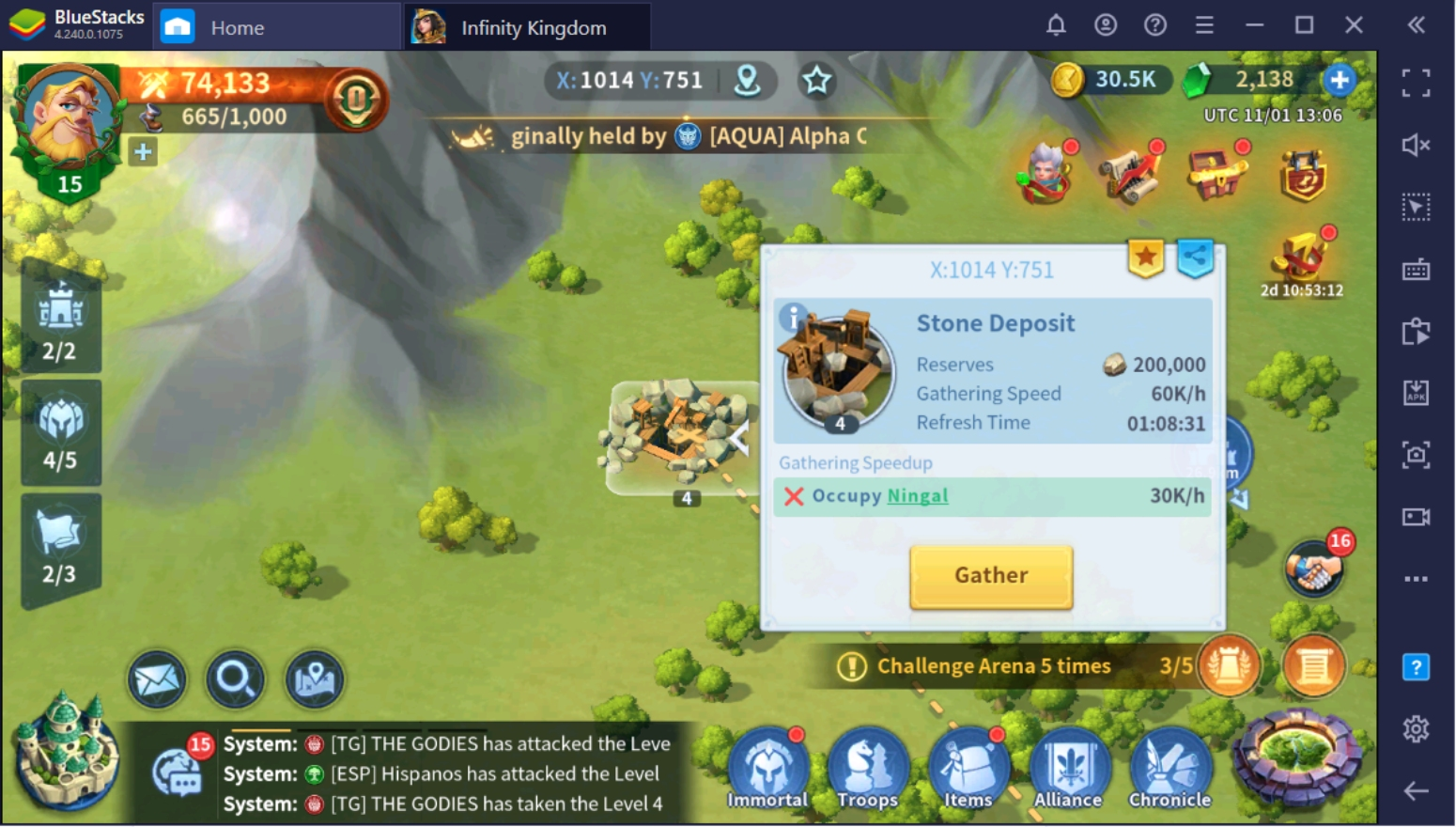 How To Get More Resources In Infinity Kingdom On PC