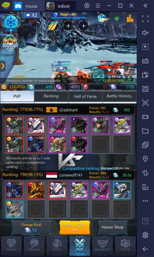 Infinity Mechs on PC – Preparing for PvP Battles