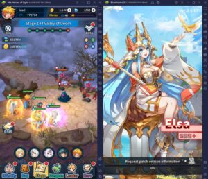 How To Play Idle Heroes of Light on PC with BlueStacks
