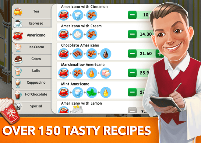 Play My Cafe Recipes & Stories on PC 3