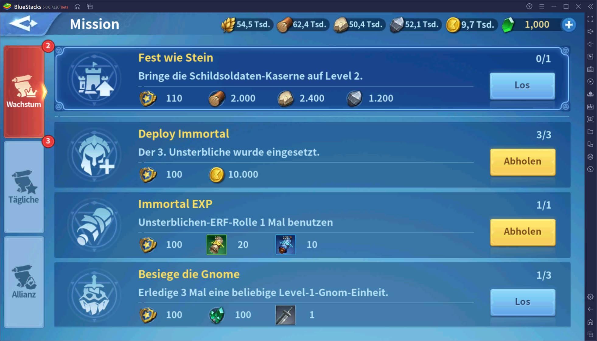 So erhältst du mehr Ressourcen in Infinity Kingdom auf dem PC