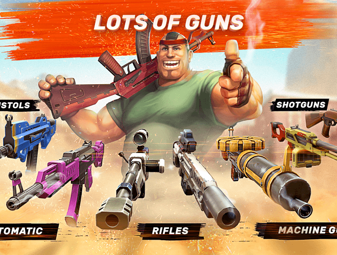Play Guns of Boom on PC with BlueStacks Android Emulator