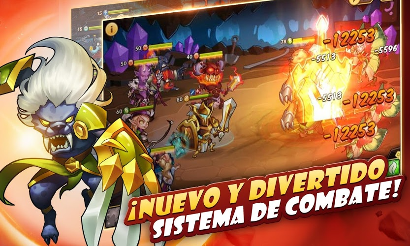 Juega Idle Heroes on PC 12