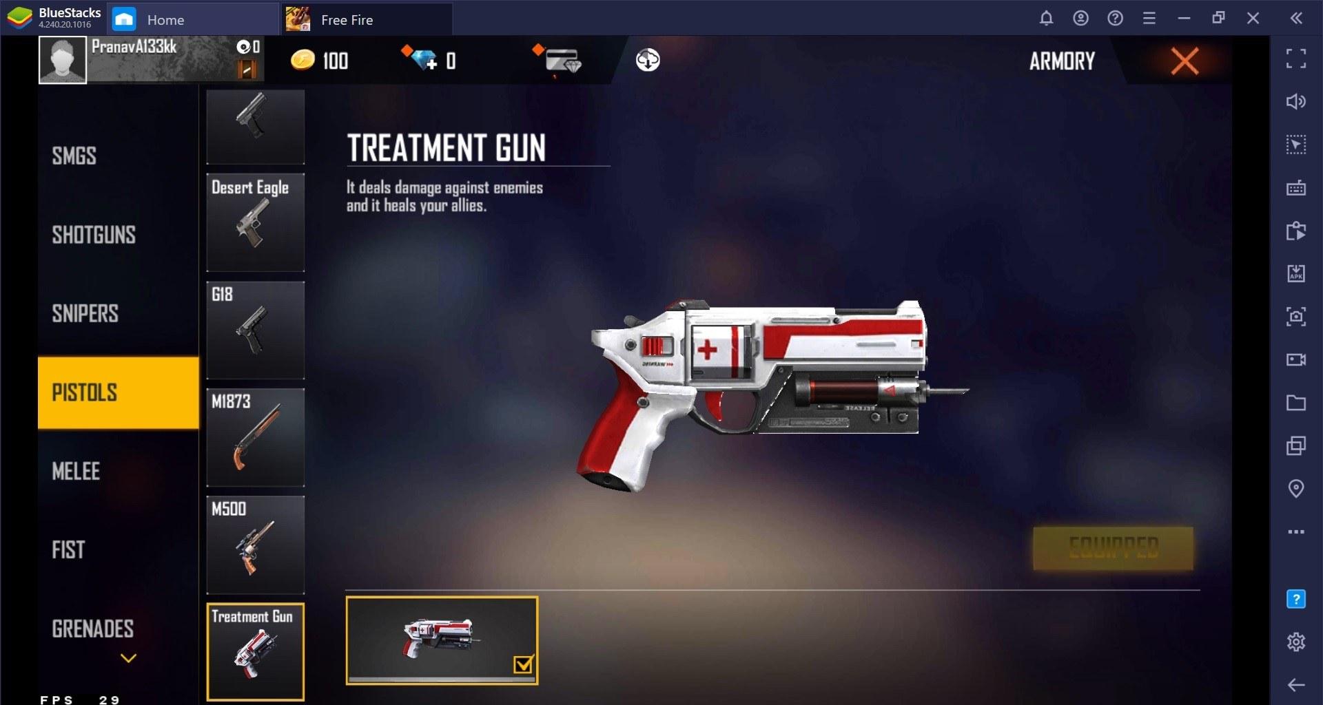 O Free Fire tem armas insanas e este guia de armas vai explicar uma a uma