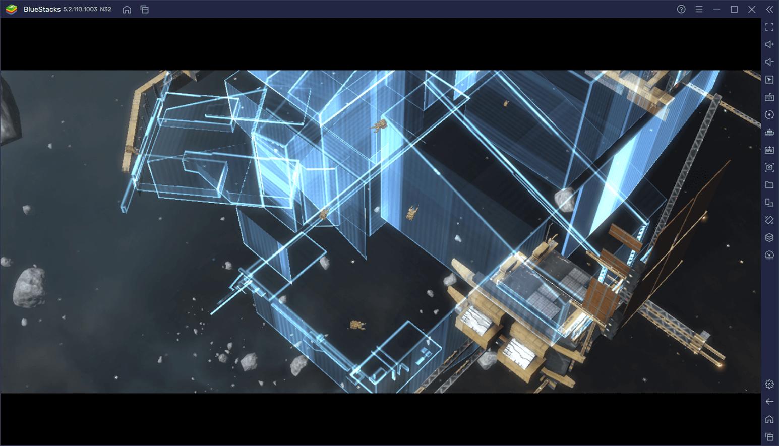 BlueStacksを使ってPCで『インフィニット ラグランジュ』を遊ぼう
