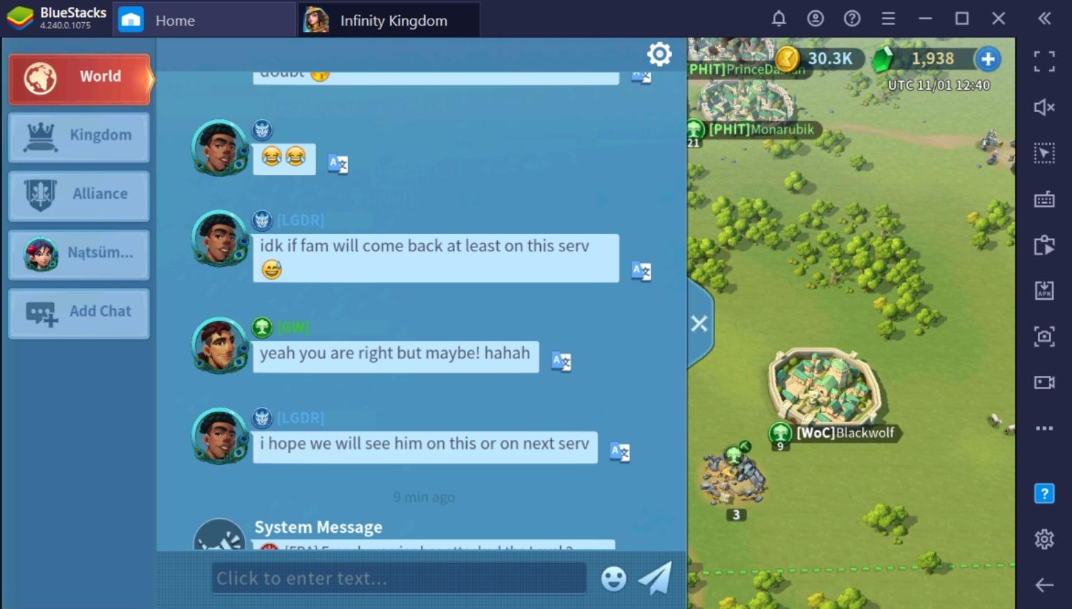 Anfängerleitfaden für den Einstieg in Infinity Kingdom auf dem PC