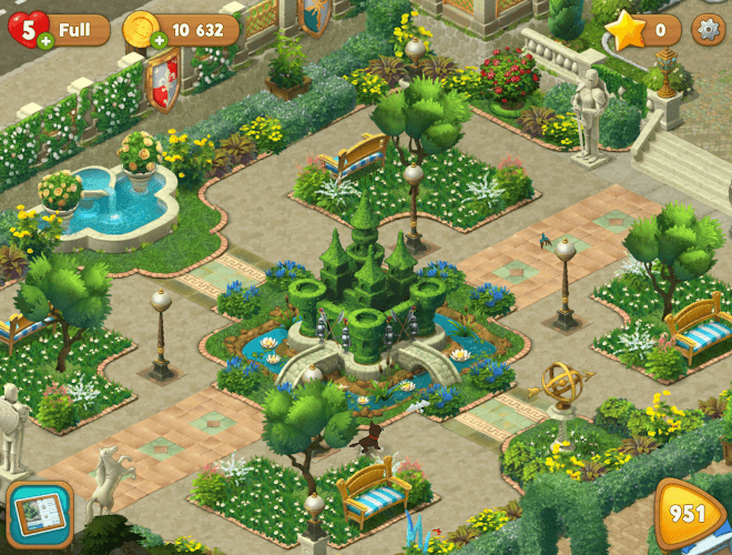 เล่น Gardenscapes on PC 15