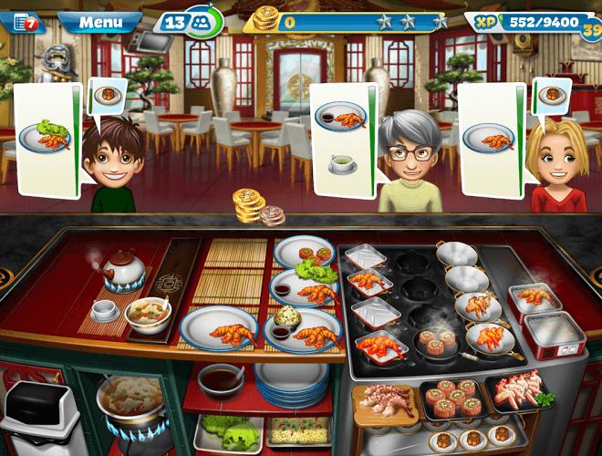 Jouez à  Cooking Fever sur PC 14