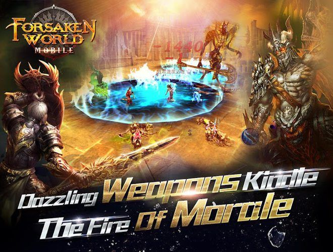 Play Forsaken World Mobile MMORPG on PC 17