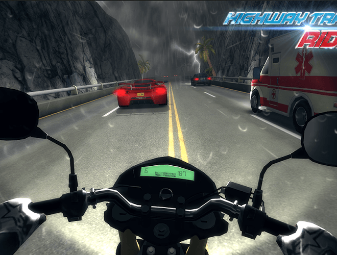 Играй Highway Traffic Rider На ПК 5