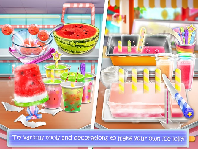 Chơi Ice Cream Lollipop Maker on PC 3