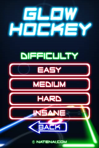 Играй Glow Hockey on pc 5