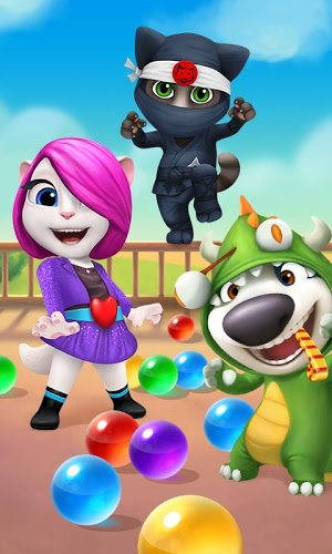Play Talking Tom Bubble Shooter on PC 1