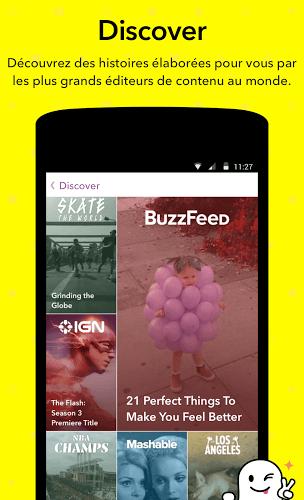 Jouez à  Snapchat app sur PC 5