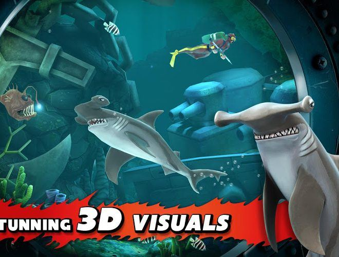 Play Hungry Shark Evolution on PC 23