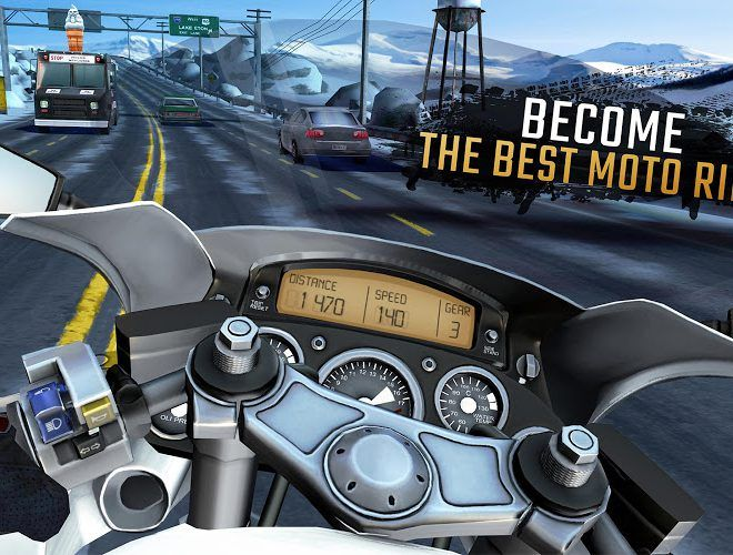 Play Moto Rider GO: Highway Traffic on PC 16