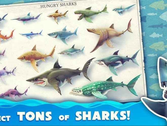 Chơi Hungry Shark World on pc 14