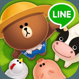 เล่น LINE Brown Farm บราวน์ฟาร์ม on PC