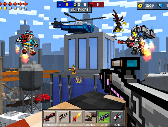Play Pixel Gun 3D on PC 6
