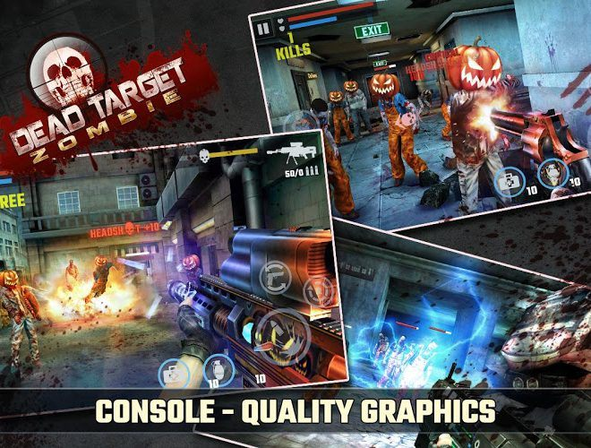 Play DEAD TARGET: Zombie on PC 6