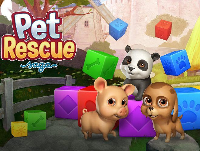 เล่น Pet Rescue Saga on PC 10
