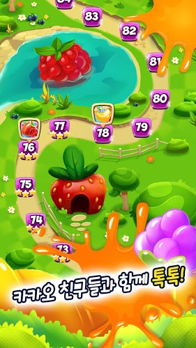 즐겨보세요 Fruit Mania for Kakao on PC 16