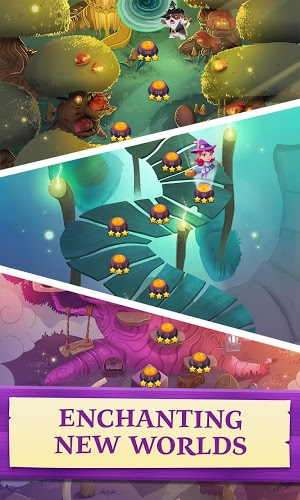 Chơi Bubble Witch 3 Saga on PC 6