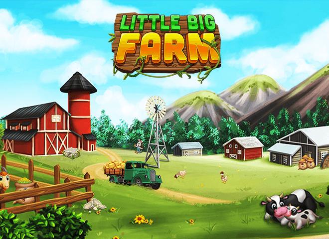 เล่น ฟาร์มขนาดใหญ่เล็ก ๆ น้อย ๆ on PC 4