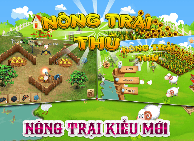Chơi Nong Trai Thu – Dau Truong Thu on PC 8