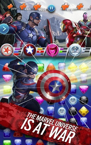 Play Marvel Puzzle Quest on PC 15