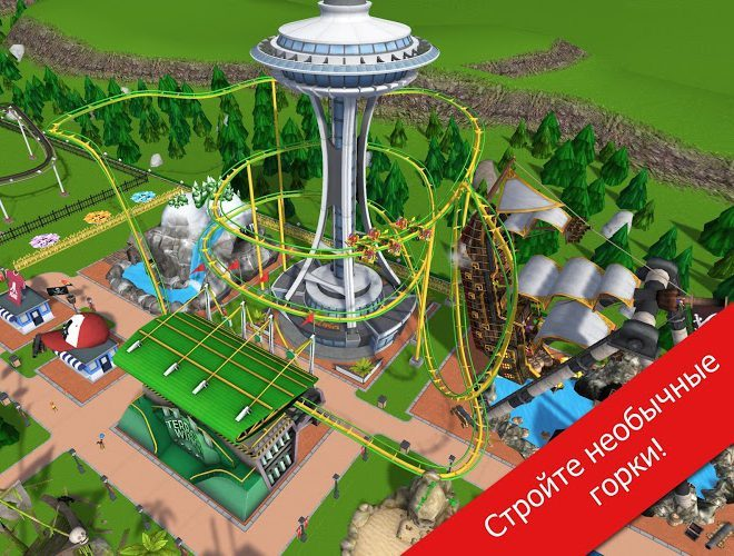 Играй RollerCoaster Tycoon Touch На ПК 10
