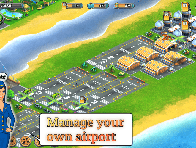 เล่น City Island: Airport on pc 4