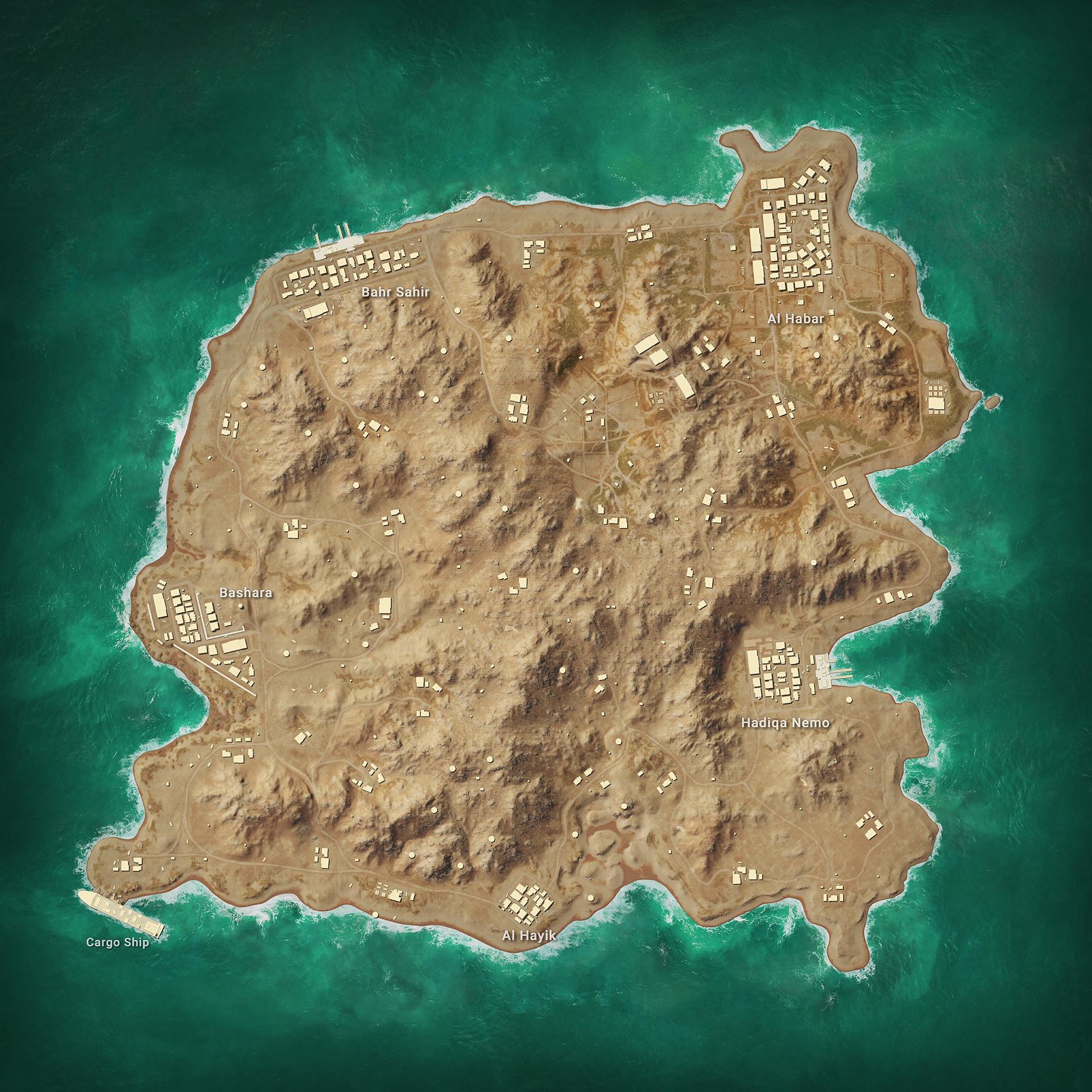 7 апреля в PUBG Mobile появится новая карта «Каракин»