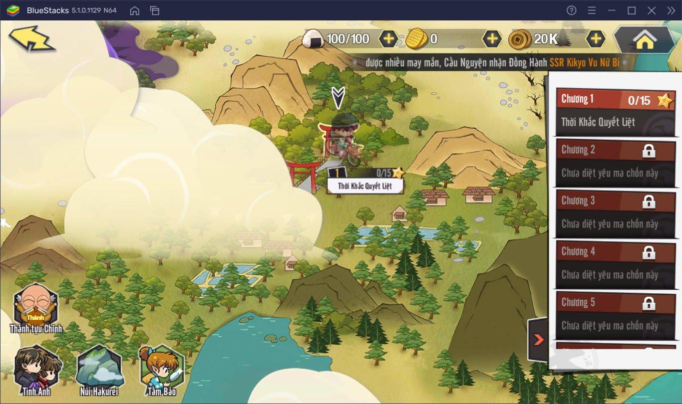 Phiêu lưu tìm ngọc Tứ hồn cùng Khuyển Dạ Xoa Truyền Kỳ trên PC