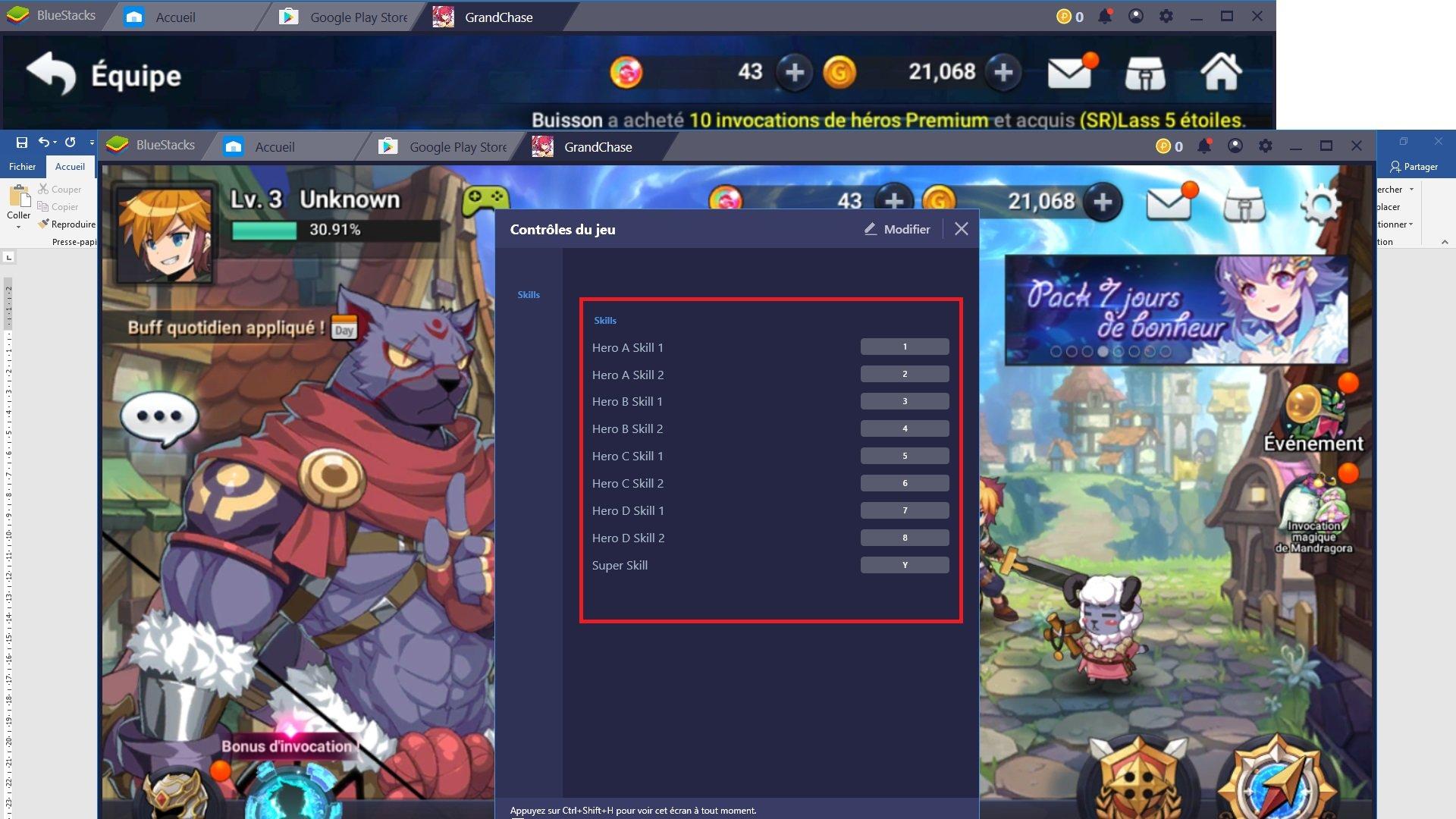 Profiter du jeu GrandChase sur Android grâce aux fonctionnalités de BlueStacks